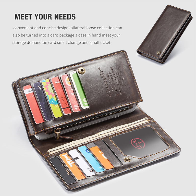 For iPhone 5 5s SE Phone Cases Luxury Leather Stand Flip Card Pocket Cover Back Case For iPhone 6 7 8 Plus X Universal Wallet Phone bag (8)