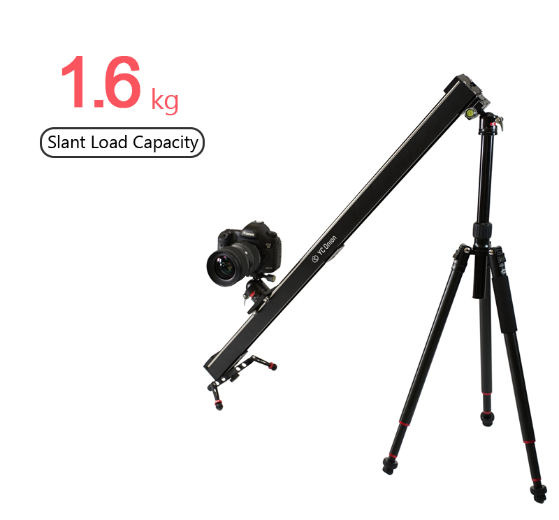 YC ONION Aluminum Motorized Camer Slider App Bluetooth Control Stable Smooth Slider Camera With Motor For Photography DSLR Video (6)