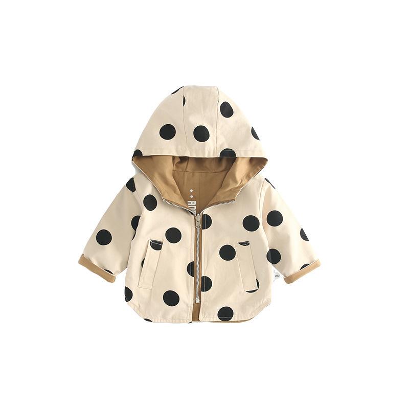 Fantaisie Enfant Bébé Garçon Fille solide Veste à capuche chaud épais Manteau Outerwear Vêtements