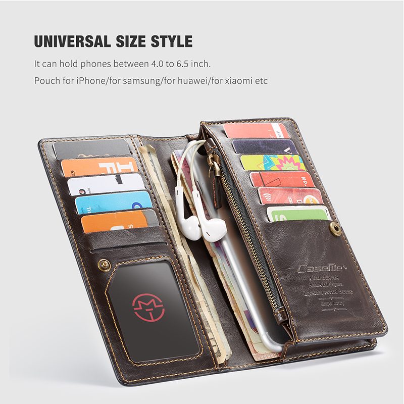 For iPhone 5 5s SE Phone Cases Luxury Leather Stand Flip Card Pocket Cover Back Case For iPhone 6 7 8 Plus X Universal Wallet Phone bag (5)