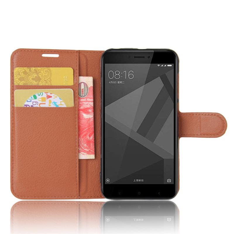 For Xiomi Xiaomi Redmi 4X Case 5.0 inch Wallet PU Leather Cover Phone Case For Xiaomi Redmi 4X 4 X Case Silicone Flip Back Bag (52)