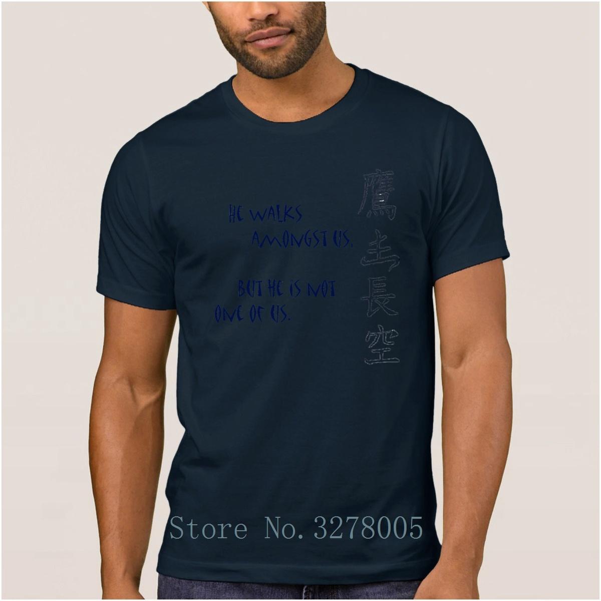 Lost Jack Tattoo He Walks Amongst Us But He Novelty Men's T Shirts Vintage 2018 T-Shirt Men Clothes Euro Size Tshirt Men