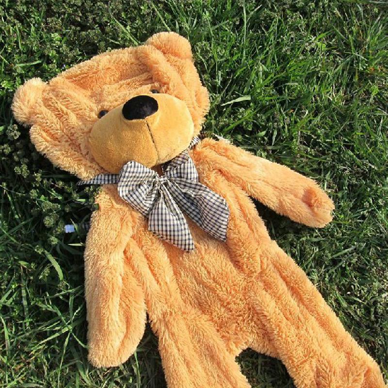 Teddy Bear Skins Plush Soft Toy Dolls Giant empty Bear animal skins shell for kids Cute Peluche Animal Stuffed Toys Gifts (2)