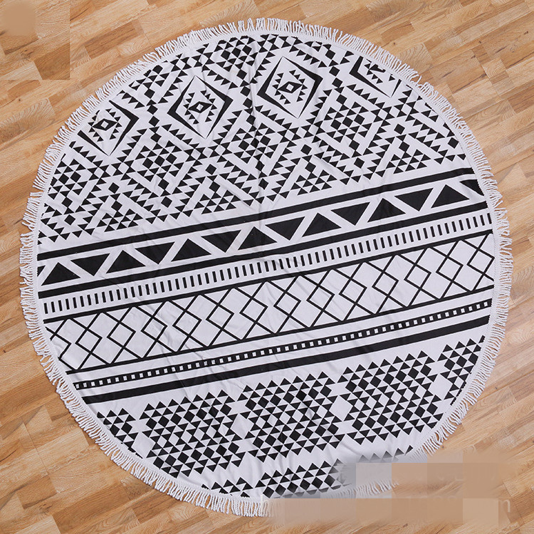 Round beach towel (3)
