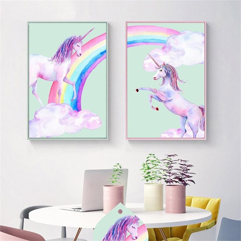 Stitch il tuo KIT Unicorno Decorazione da appendere