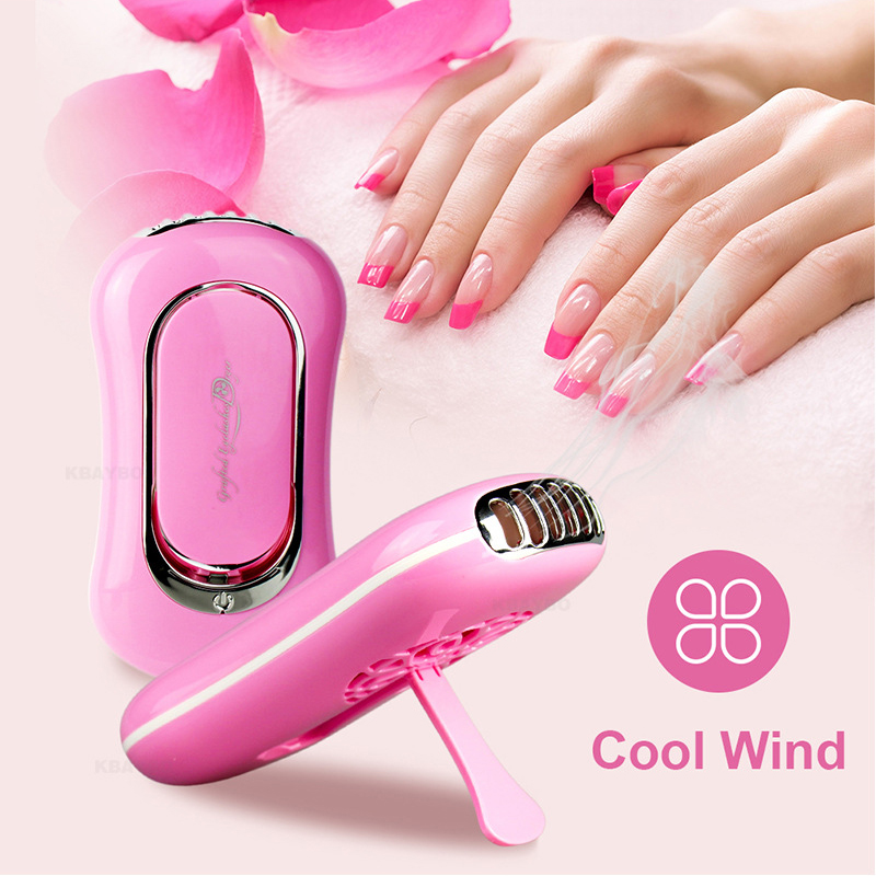 6 Colors USB Mini nail Dryer Fan nail art tool Eyelash Dryer Air False Eye Lash Mascara Dryer Quick Drying Makeup Device