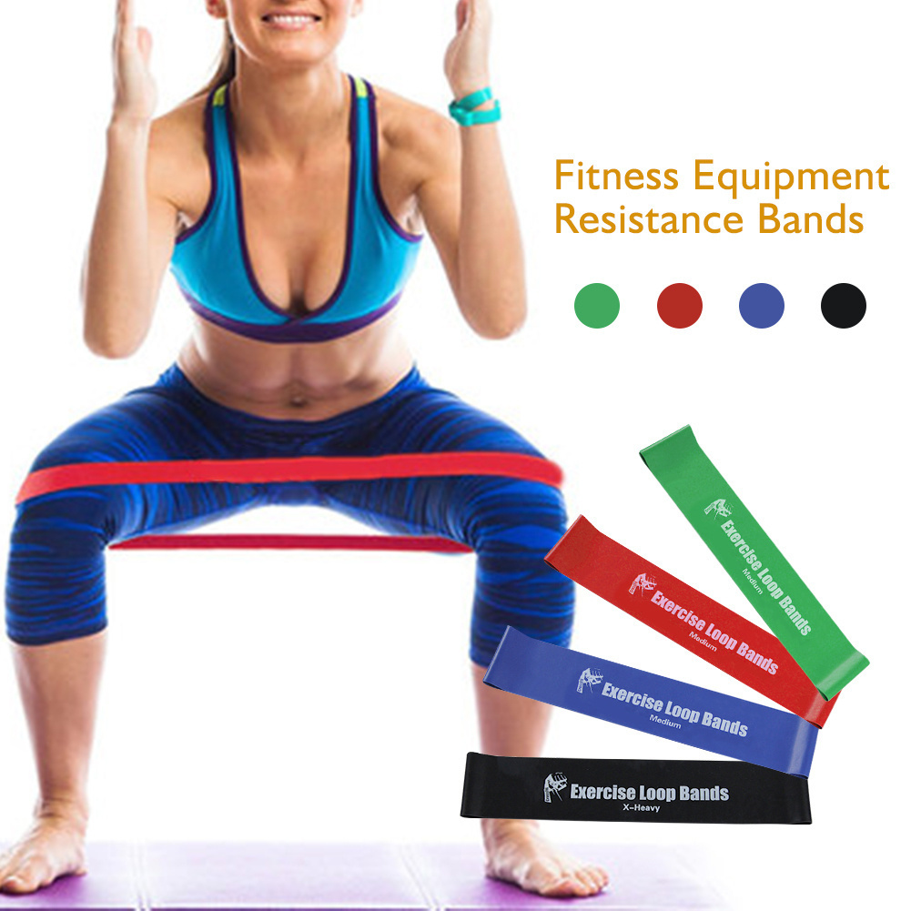Elastic Resistance Bands Workout Rubber Loop For Fitness Gym Strength Training Elastic Bands Fitness Equipment Expander