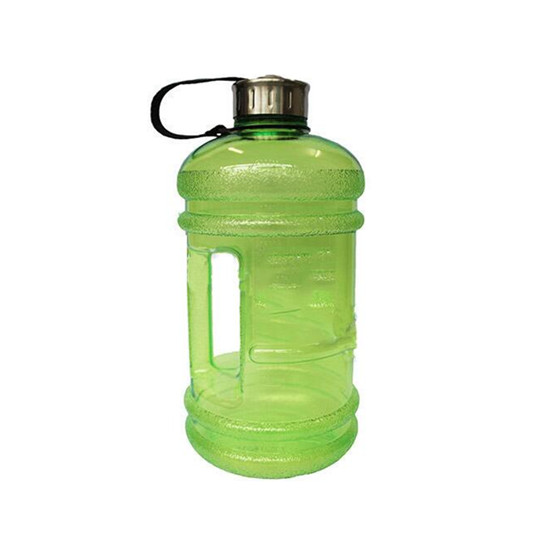3.8L Water Bottle Carry Sport Gym Travel PETG Large Capacity Camping Drink Cap