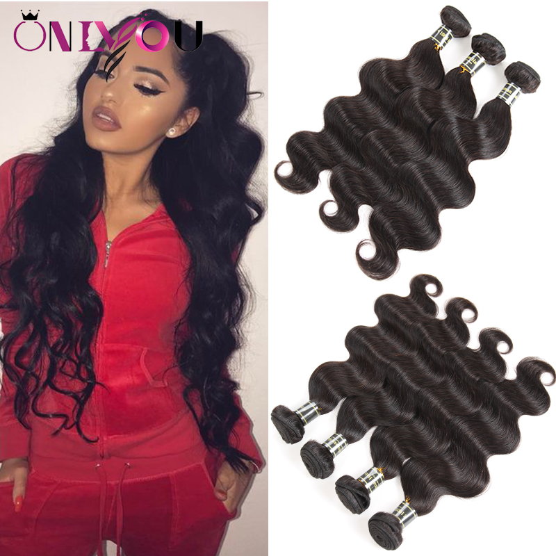 Hot Brazilian Body Wave Virgin Hair Bundle Deals Remy Human Hair Extensions 4/5/6 Mix Order Body Weave Human Hair Weave Bundles