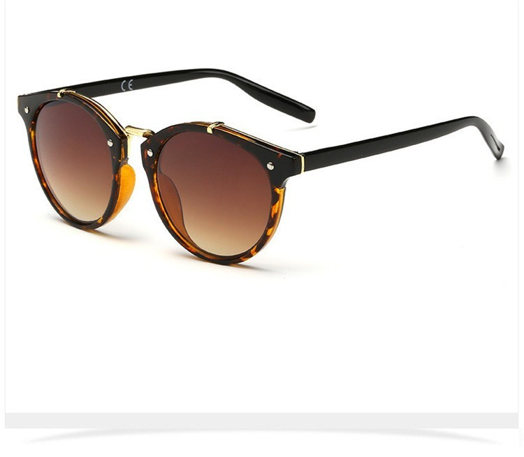 2016 Classic Brand Designer Sunglasses Women Men Retro Round Sun Glasses Woman shades Mirror Eyewear Lady Male Female Sunglass (36)