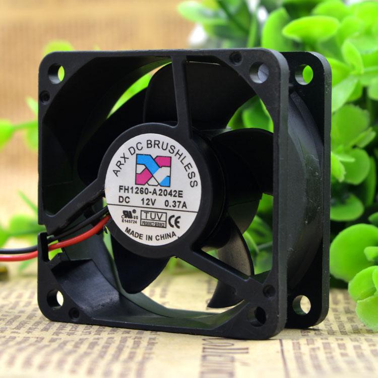 Cytom for Taiwan Threesmiths Arx FH1260-A2042E 12V 0.37A 6CM 6025 2-Wire Cooling Fan
