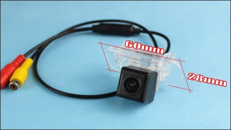 Car Camera For Mercedes Benz MB B Class W245 High Quality Rear View Back Up Camera For TOPGEAR Friends CCD + RCA Size 01