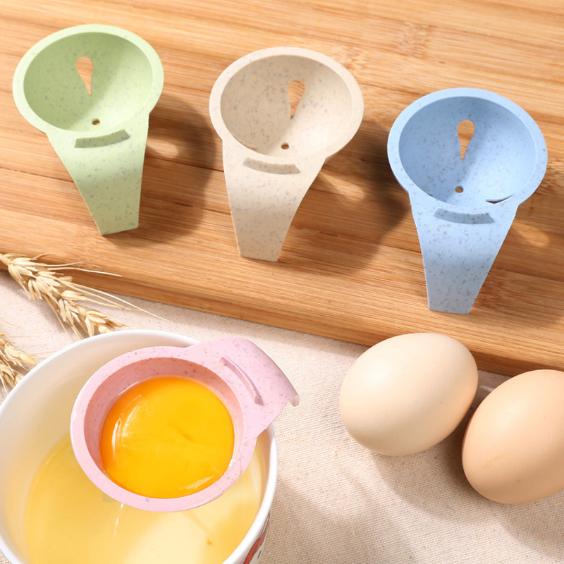 Egg Yolk Blanc Séparateur Outil Tamis Gâteau Pâtisserie Cuisson Cuisine Plastique Gadget