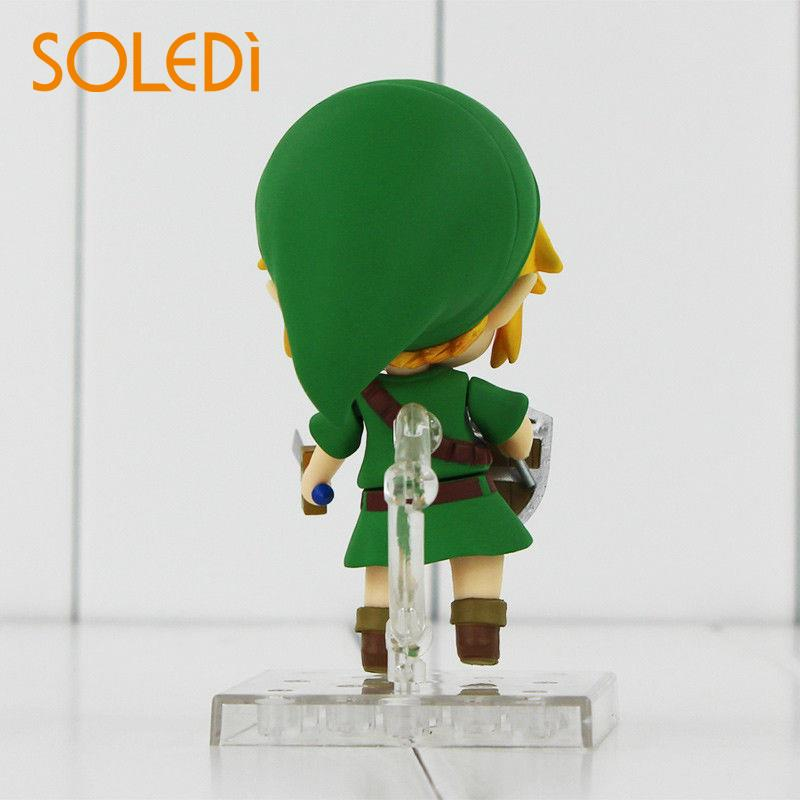 Anime The Legend of Zelda Link Majora Mask Action PVC Figure Nendoroid