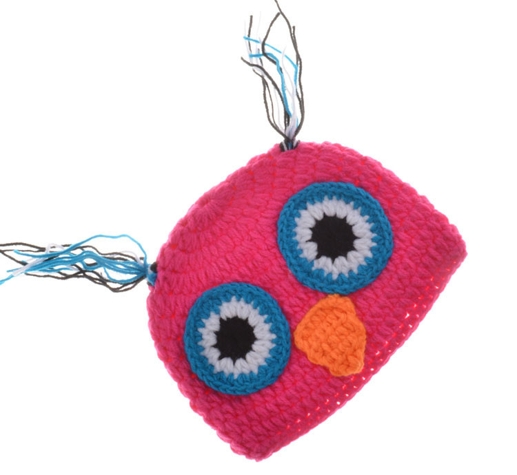 Owl Design Newborn Costume Photography Props Hand Made Crochet Baby Photo Shoot Clothes for 0-3 Months