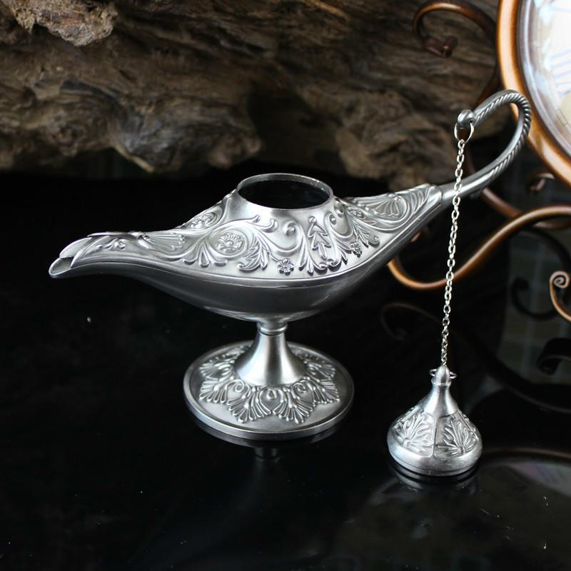 Vintage Aladdin Lampe Hauptlieferung dekorative magische Genie einzigartiges Geschenk für Hauptdekor