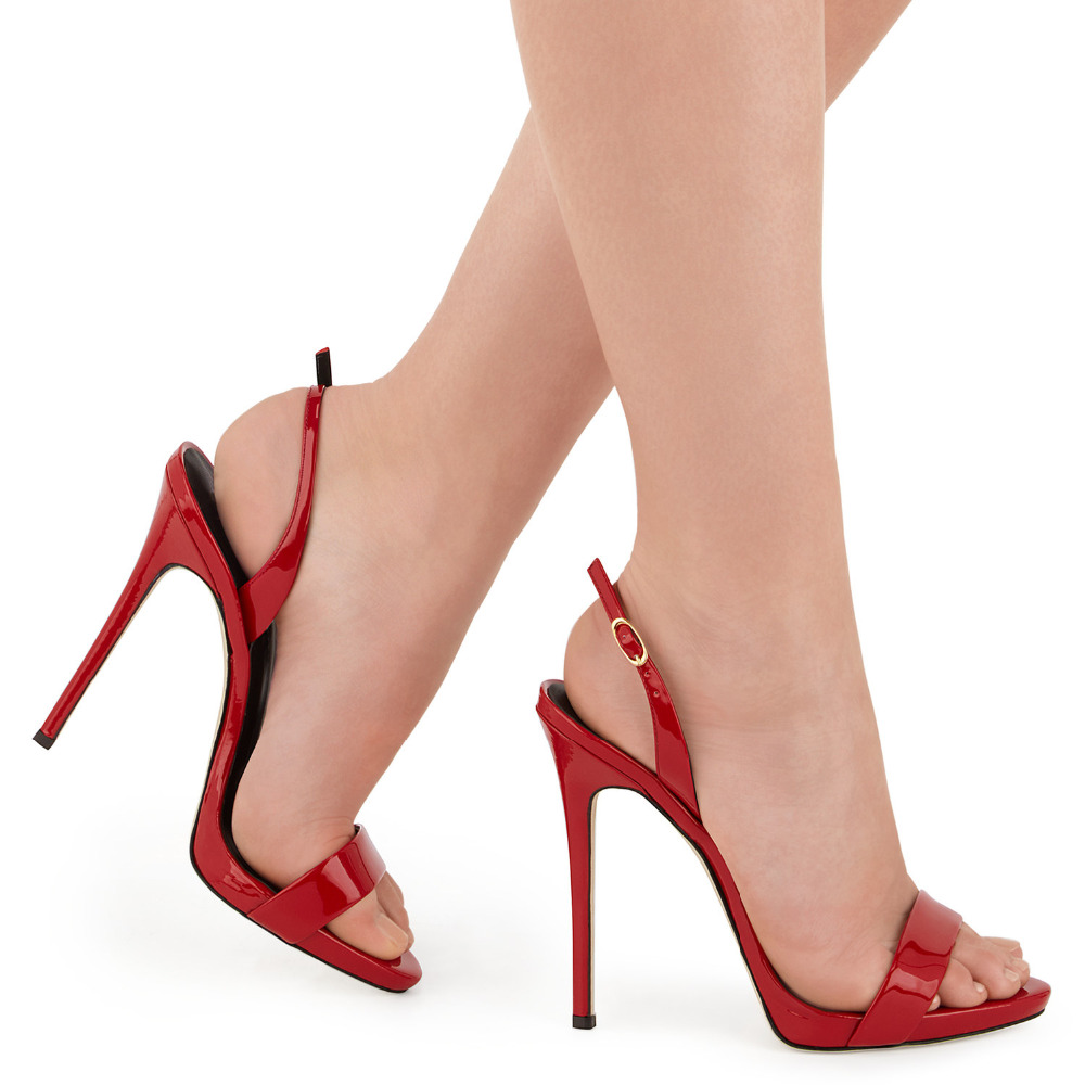 red sandals (9)