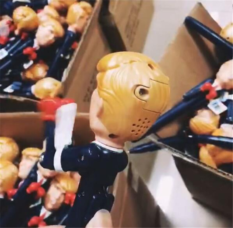 2018 The Candidate Trump Decompression Pens Boxing President Pen America Great USA Intelligent Toys Pen Fancy Gift Birthday Gift New Pens