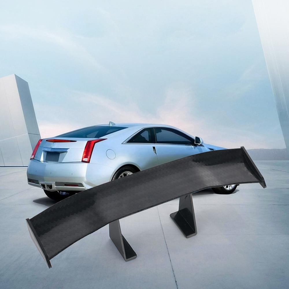 Car-Styling Universal Auto Heckfl/ügel Carbon G/ünstige Spoiler Mini Auto Fiber Dekoration