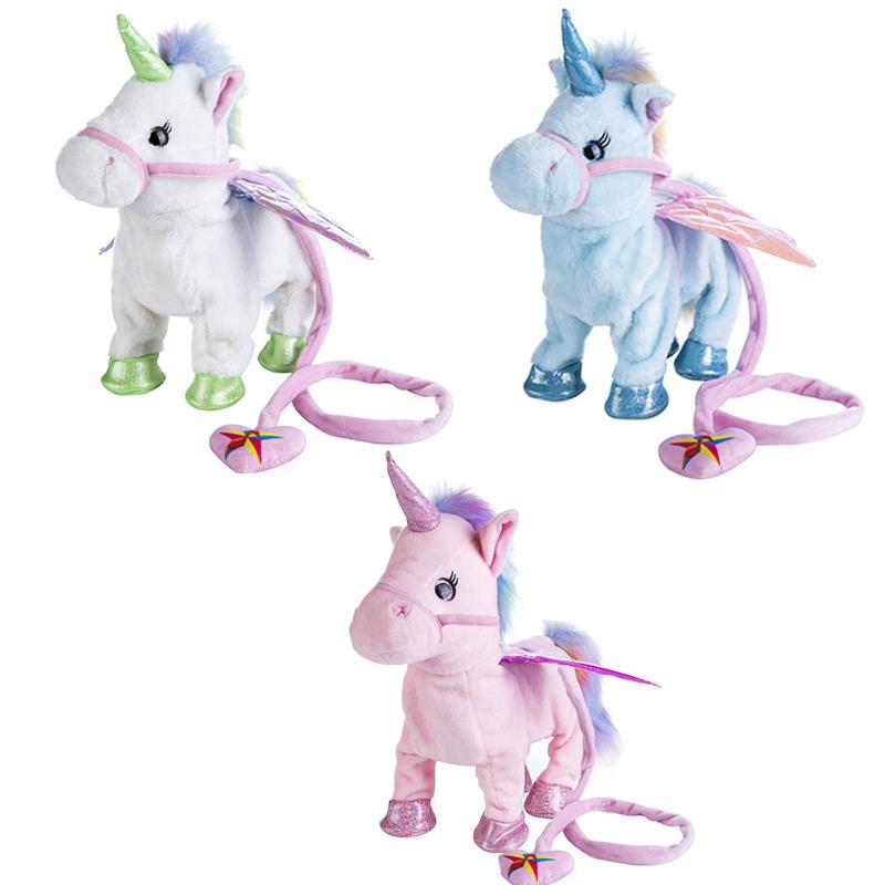 1pcs-35CM-Super-Cute-Electric-Walking-Unicorn-Plush-Toy-Stuffed-Animal-Toy-Electronic-Music-Unicorn