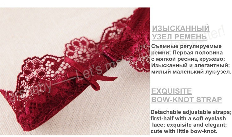exquisite bow-knot strap