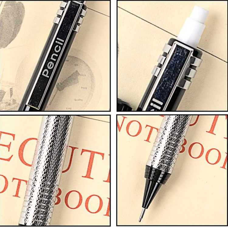 Automatic pencil drawing single pencil 2B 0.5mm art pencil metal pencils Writing pens Gift I449