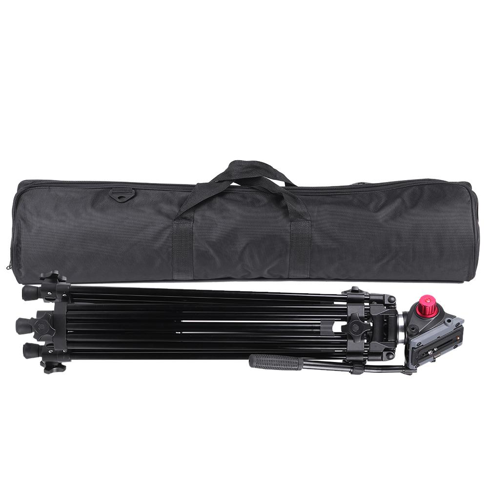 wholesale Professional Aluminum Alloy Camera Video Tripod Panorama Fluid Hydraulic Head Ballhead for Canon Nikon Sony DSLR Recorder