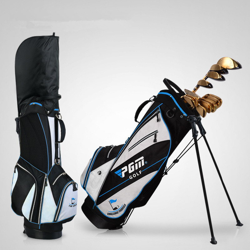 Golf bag golf rack bag Ball bag comes with pull rod pulley High hardness plastic base Advanced nylon fabric material03