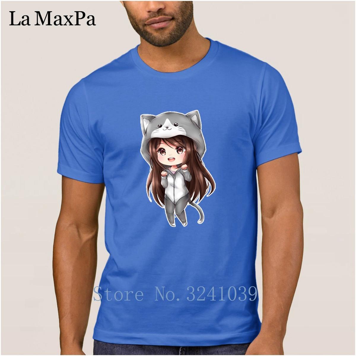 Custom New Fashion Men's T-Shirt Cotton Simple 2018 T Shirt Chibi Lia In Kitty Onesie Tshirt For Men Male Euro Size Tee Tops