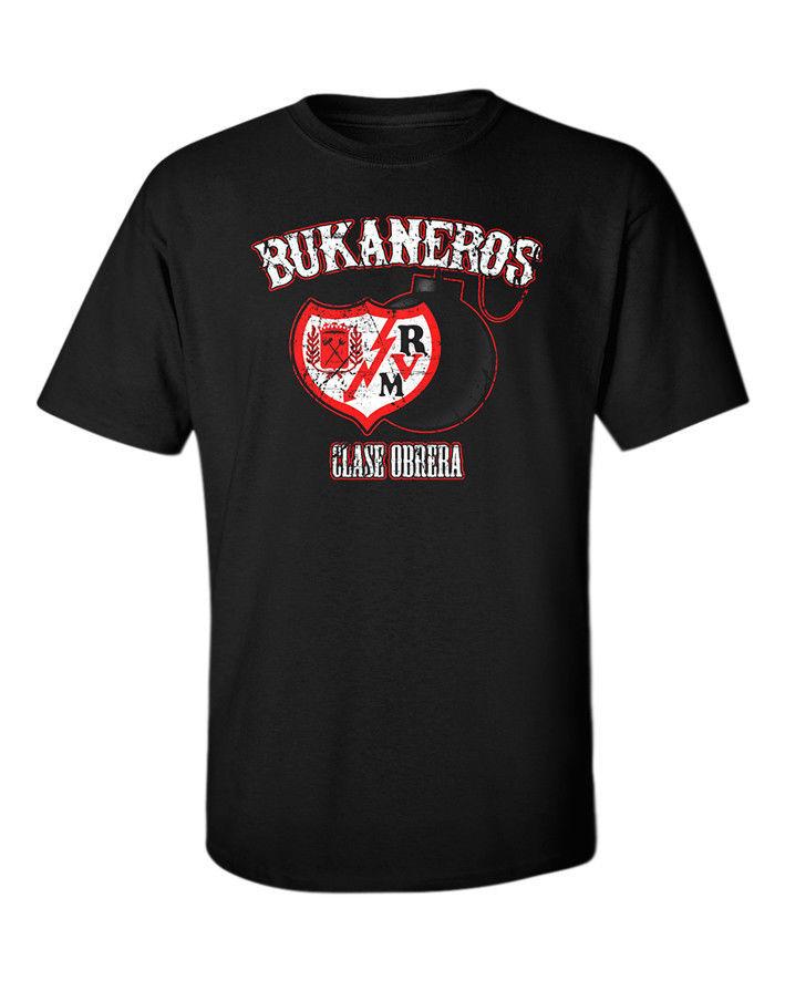 Bukaneros-T-Shirt-Rayo-Vallecano-RVM-Clase-Obrera-Footballer-Ultras-Vallecas-Tee