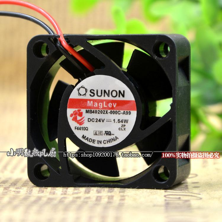 Original FOR SUNON 6CM 6015 24V 0.7W KDE2406PHV3-A 3-wire inverter cooling fan