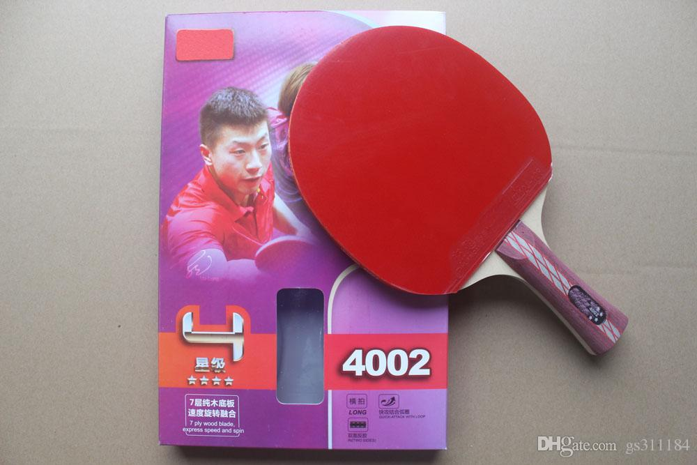 2017 NEW 6006 5006 Table tennis rackets . 6 STARS . finished product Table tennis racquet