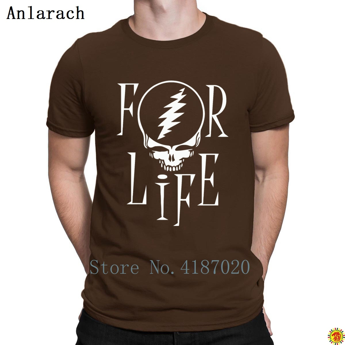 For Life Tshirt Hot Sale Vintage 2018 Funny Casual Men's Tshirt Big Sizes Print Awesome Anlarach Gents