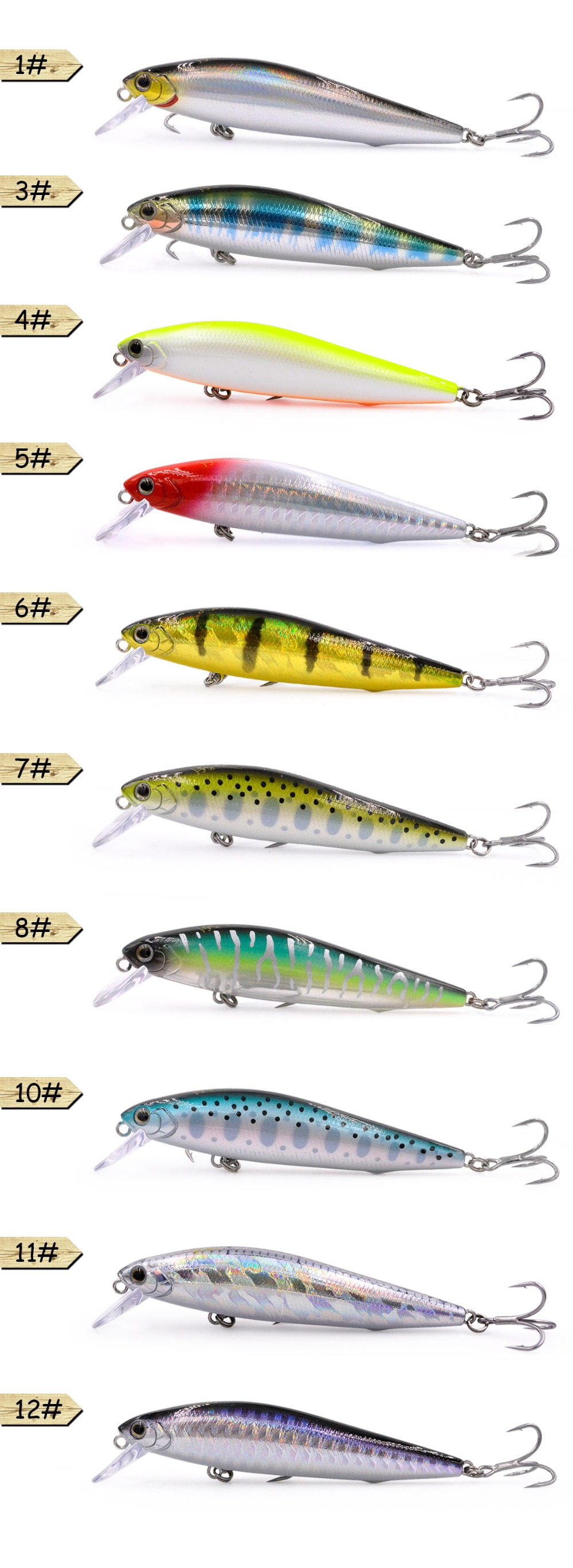 S80 Trout lure 10