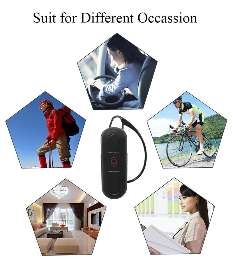 32GB 1080P Auricolare Mini videocamera Wireless Bluetooth funzionale Mini videocamera videosorveglianza Videoregistratore portatile Mini DVR di sicurezza