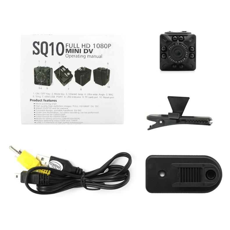 New Super Mini Camera HD 1080P/720P 12MP Infrared Night Vision Digital Micro Cam Motion Detection Portable Camcorder Video Recorder