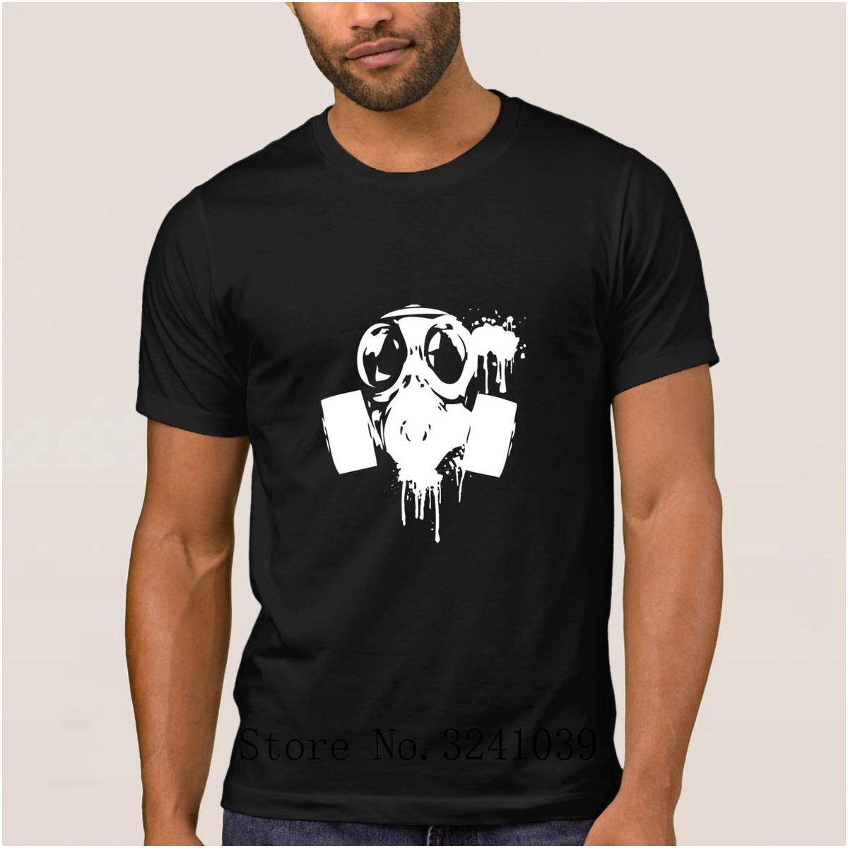 La Maxpa Designing Latest Gas Masks Graphics men t shirt 2017 Interesting mens t-shirt Leisure men tshirt Short Sleeve Unisex