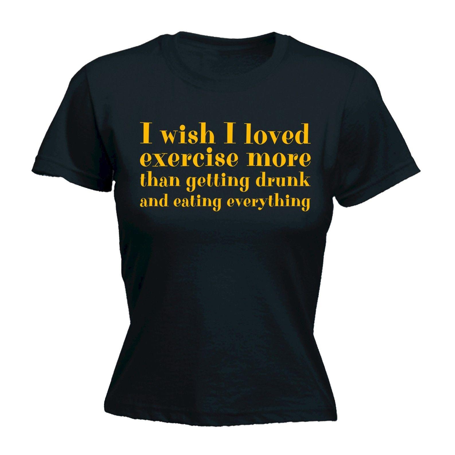 Voglio Per NATALE è il vino T-shirt aderente manica corta da donna