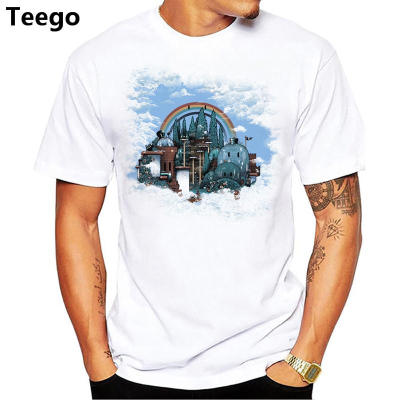 T-shirt de la mode des hommes de l'été 2018 vente chaude t-shirt imprimé à manches courtes de l'île des morts
