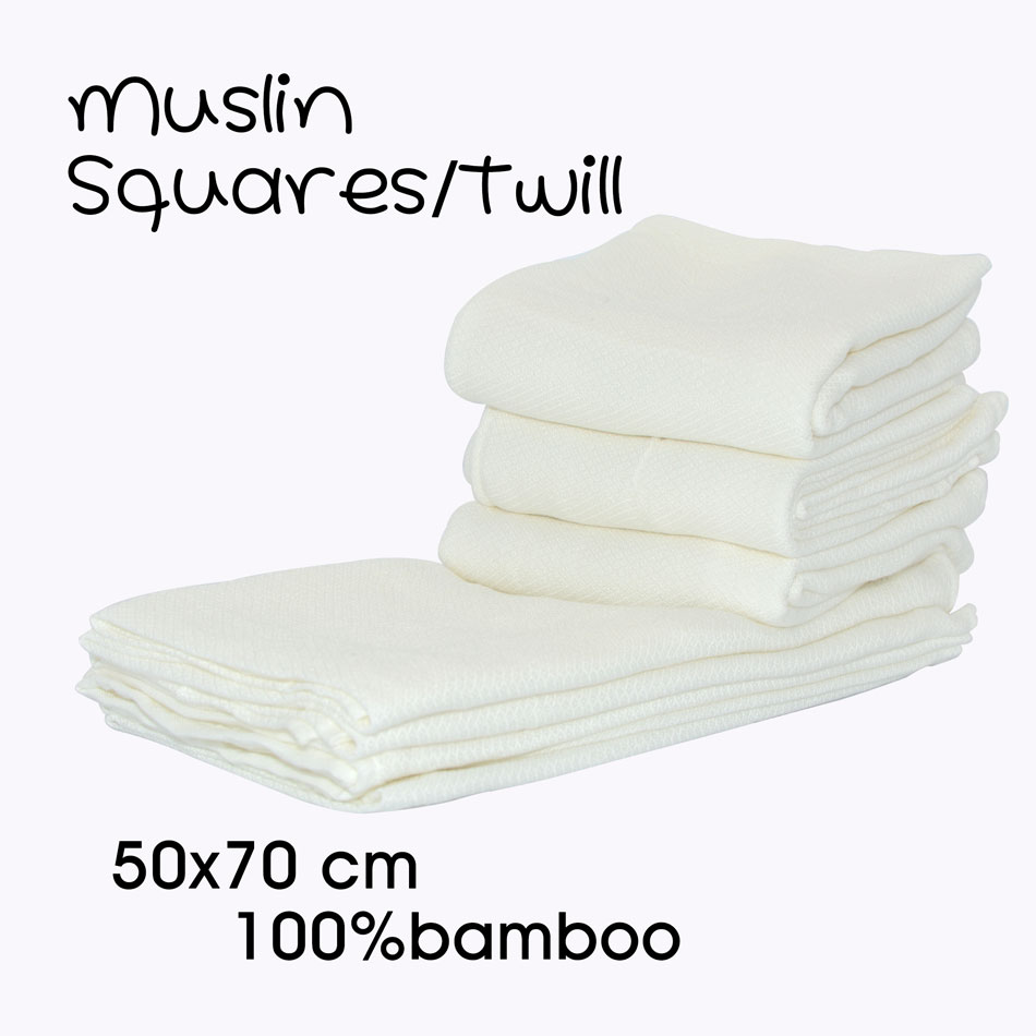 PACK OF 3 MUSLIN SQUARES FOR BABY 100/% COTTON SOFT REUSABLE BIB BURP CLOTH WIPES
