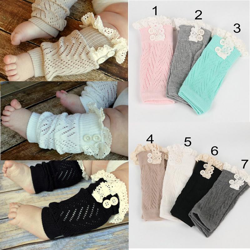 Baby Socken Rüsche Leggings Kinder Knieschützer Mädchen Jungen Legs Beinstulpen