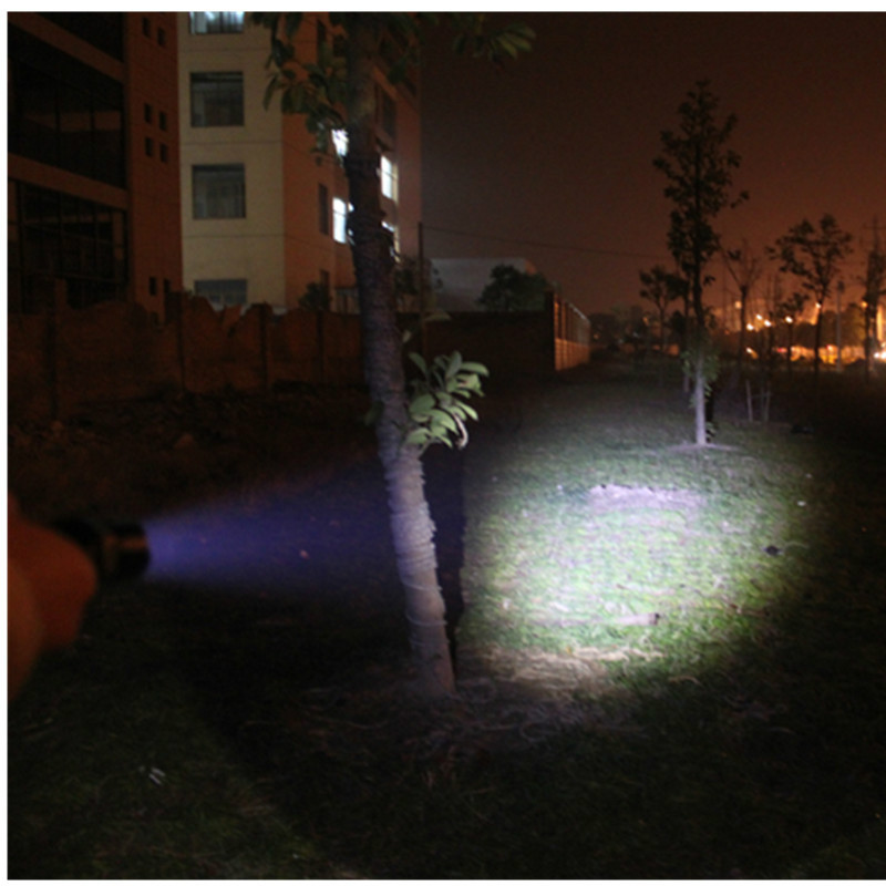 18650/3xAAA Rechargeable LED Flashlight 3 Modes Q5 LED 1000 Lumens Zoomable Torch Police Use Lantern+18650 Battery+Charger