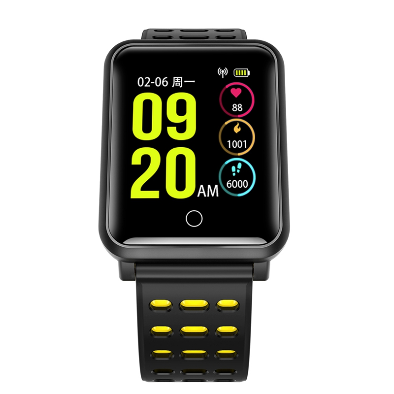Luxury 2018 X16S Bluetooth Smart Watch Calorie Counter Fitness Activity Tracker Heart Rate Monitor Sports Wristband