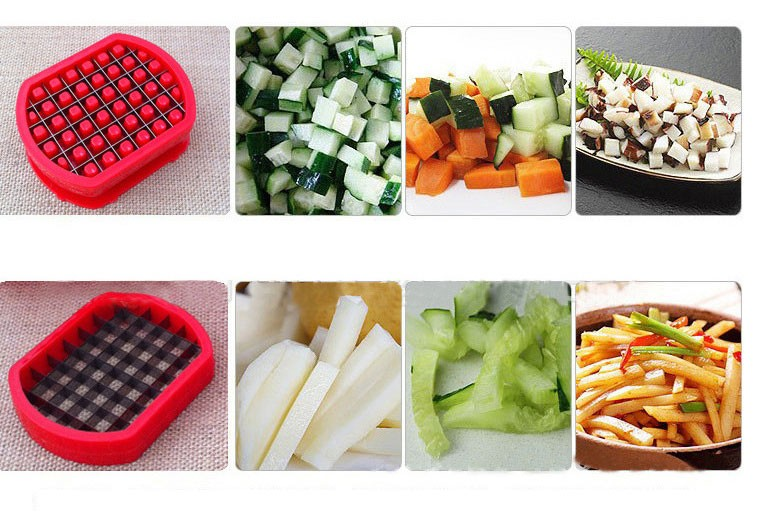 French Fry Potato Cutters peelers zesters kitchen Vegetable Fruit tools Slicer Chopper Chipper