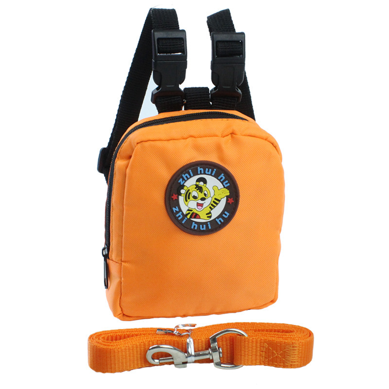 Pet Dog Backpack for Small Dog Nylon Backpack For Pet Cat Multifunction School Bag Dog Backpack With Harness Leash (10)