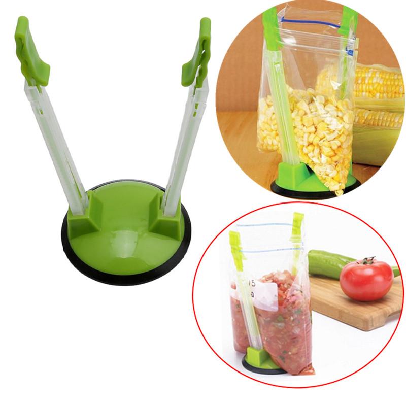 clip de alimentos de acero inoxidable Ice Clip Multifuncional Mini Clip De Alimentos especias Clip Pack de 4 Creative Clip de gadgets de cocina de silicona de az/úcar clip