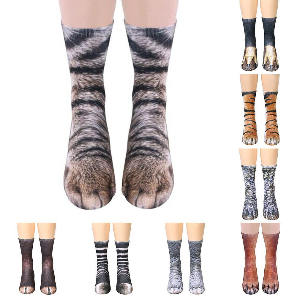 Socken Kinder Jungen Mädchen Rutschfest Baumwolle Söckchen Tiere Atmungsaktiv