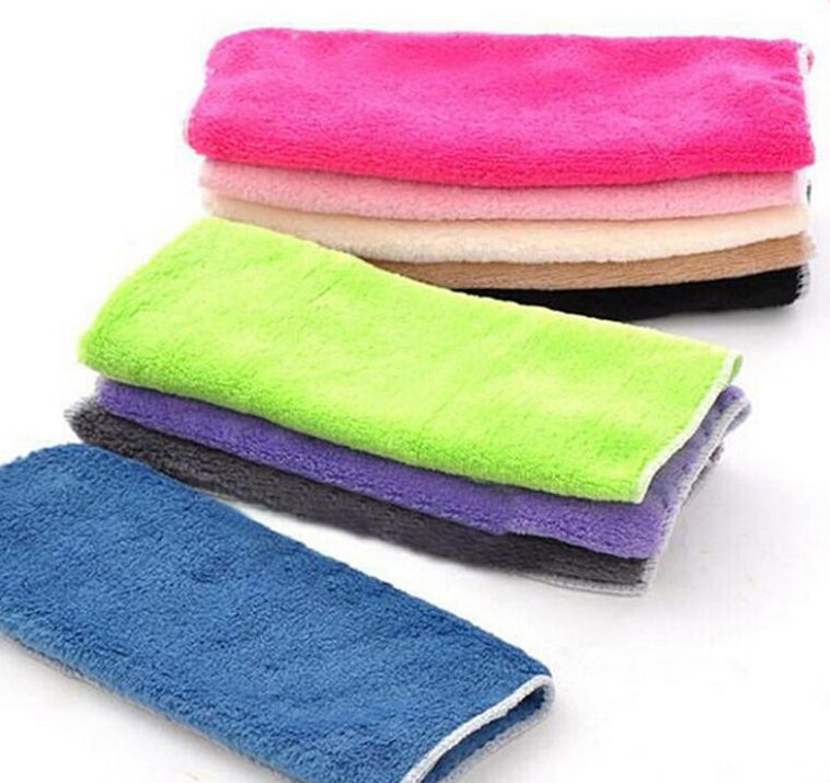 Special wholesale natural wood fiber non-stick oil rags non-stick oil kitchen towel multi-purpose dish towel fiber scouring pad