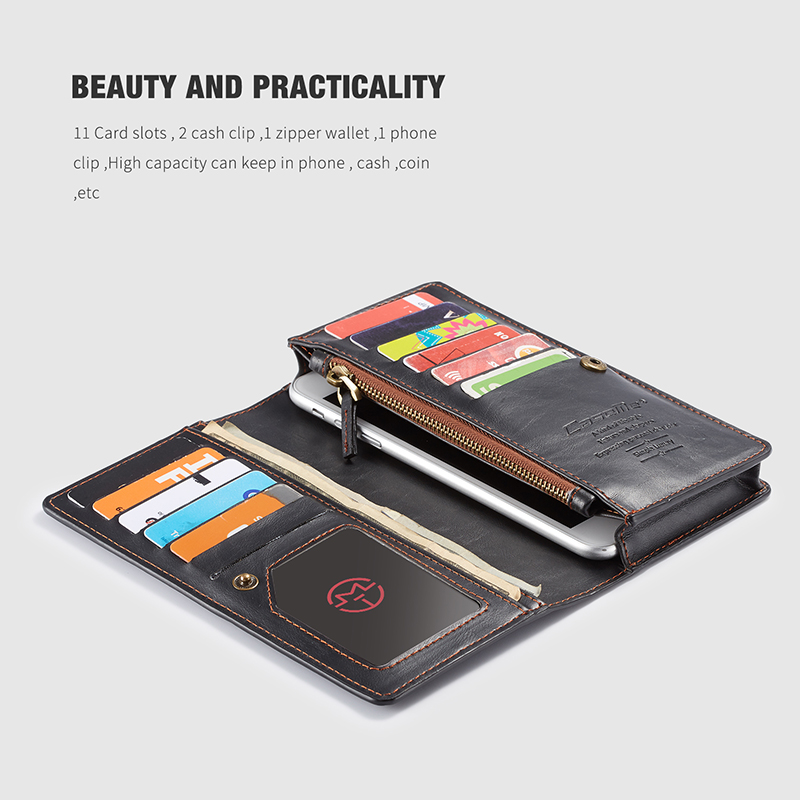 For iPhone 5 5s SE Phone Cases Luxury Leather Stand Flip Card Pocket Cover Back Case For iPhone 6 7 8 Plus X Universal Wallet Phone bag (9)