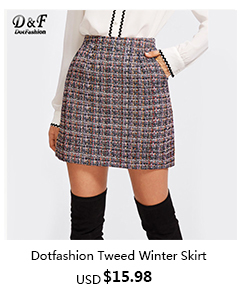 Tweed Winter Skirt